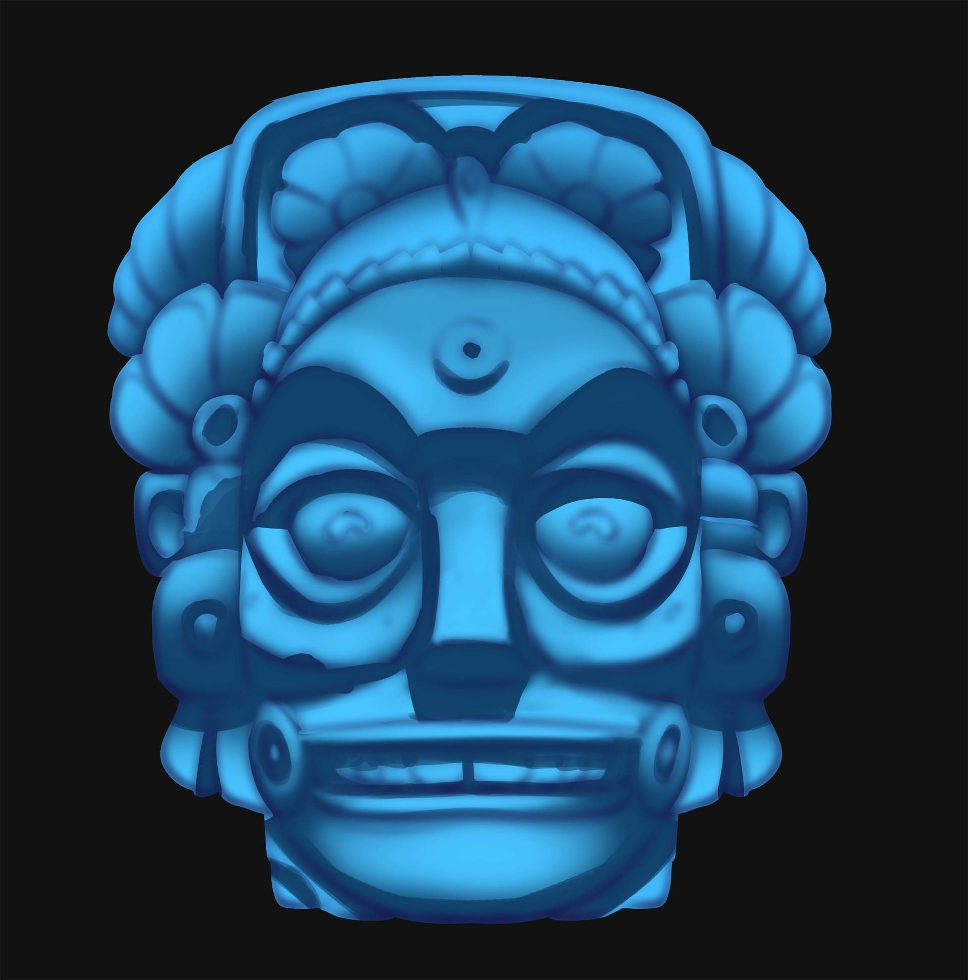 Sahil trivedi mayan sculpture3