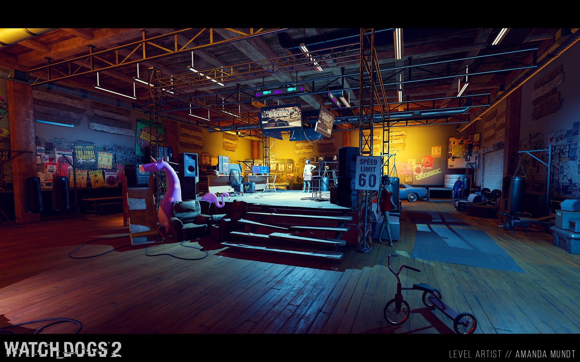 Amanda Mundt Watch Dogs 2 Hacker Spaces
