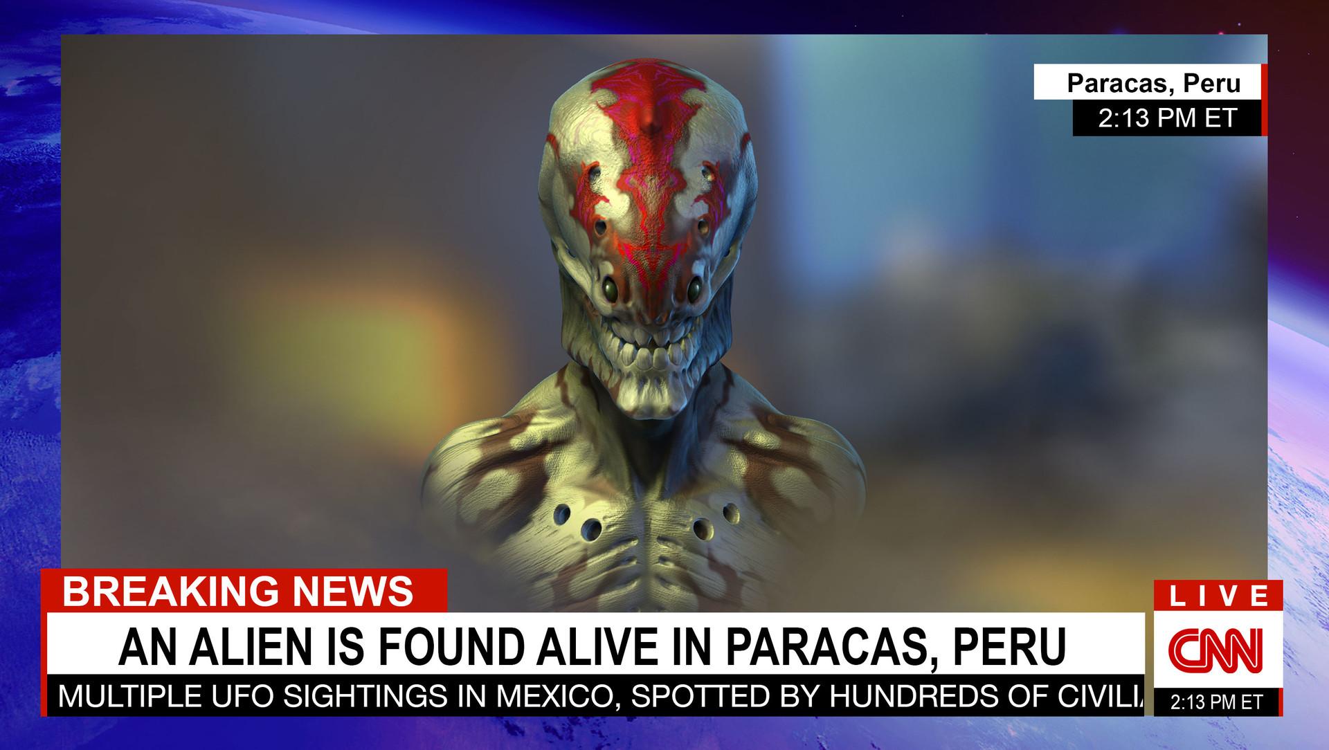 Alonzo emata alien breaking news