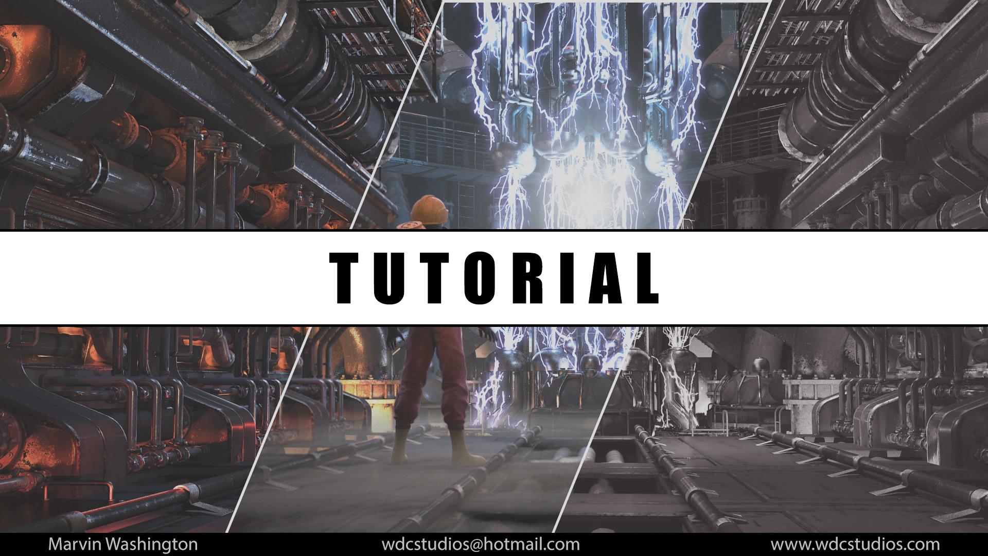 Marvin washington tutorial