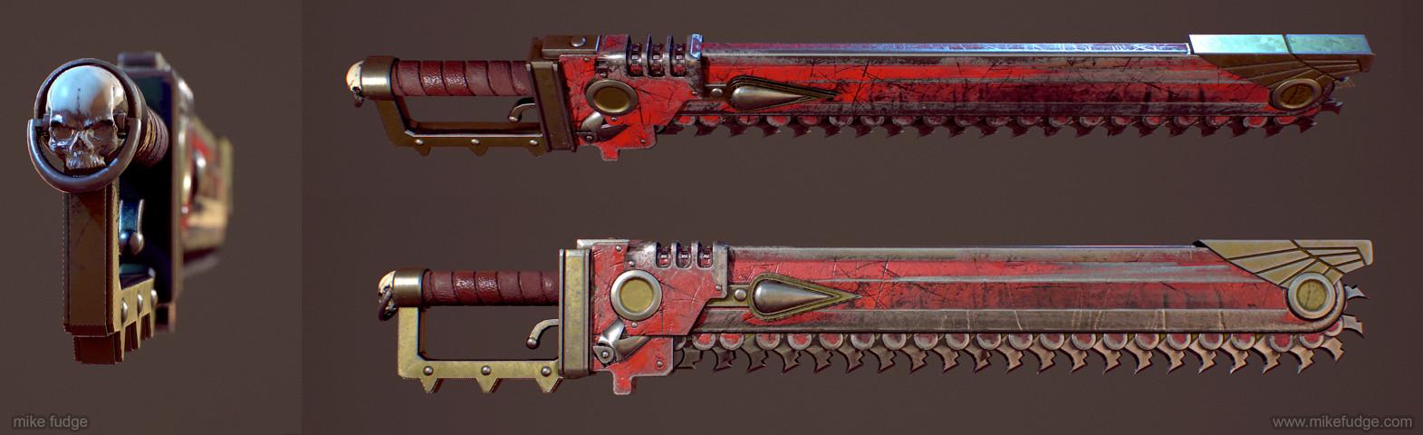 Mike fudge spacemarine sword