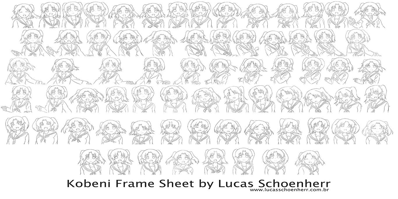 ArtStation - Kobeni Anime Dance Animation, Lucas Schoenherr