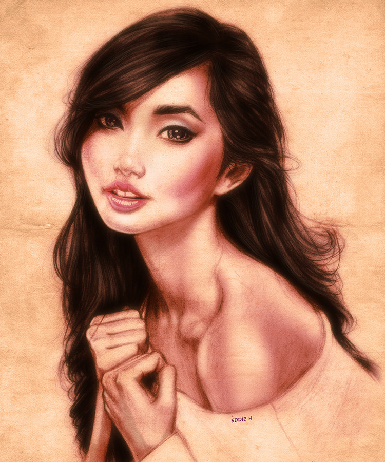 Eddie holly alodia portrait