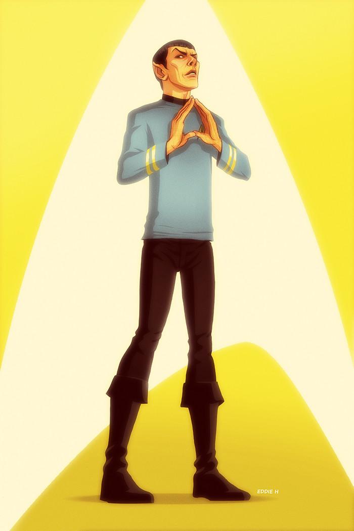 Eddie holly spock nimoy