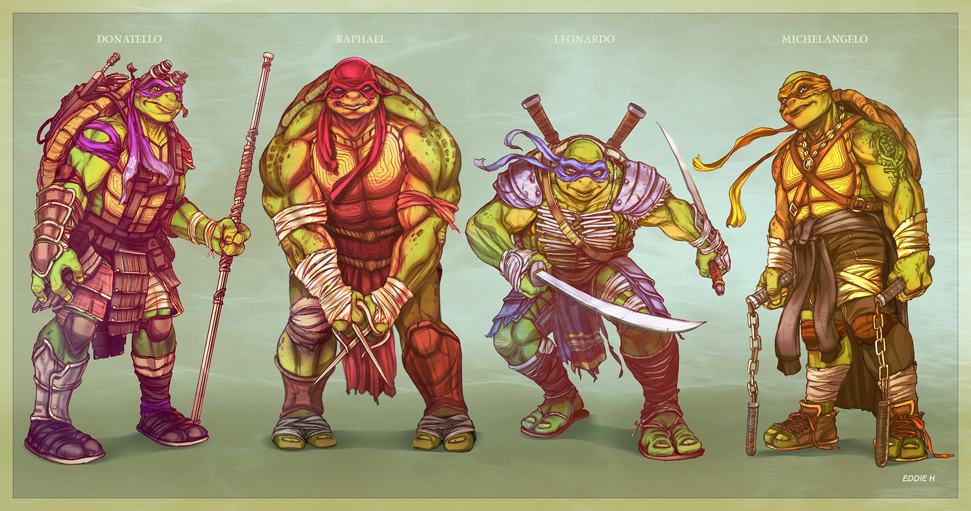 Eddie holly new ninja turtles eddie holly