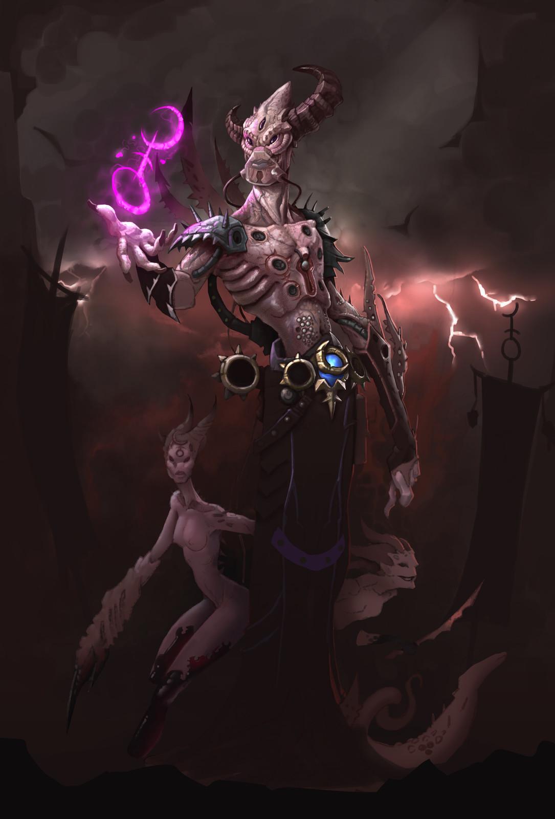 Daemon Prince of Slaanesh