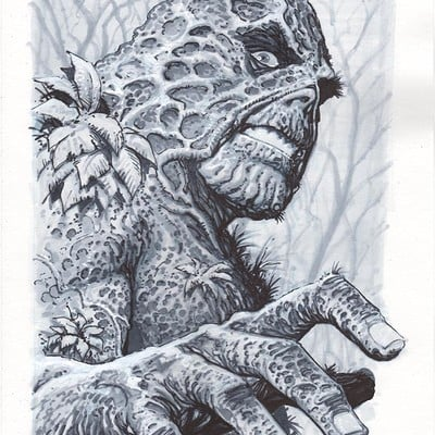 Marco santucci swamp thing 01