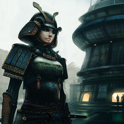 Lorenz hideyoshi ruwwe samurai woman newcc s