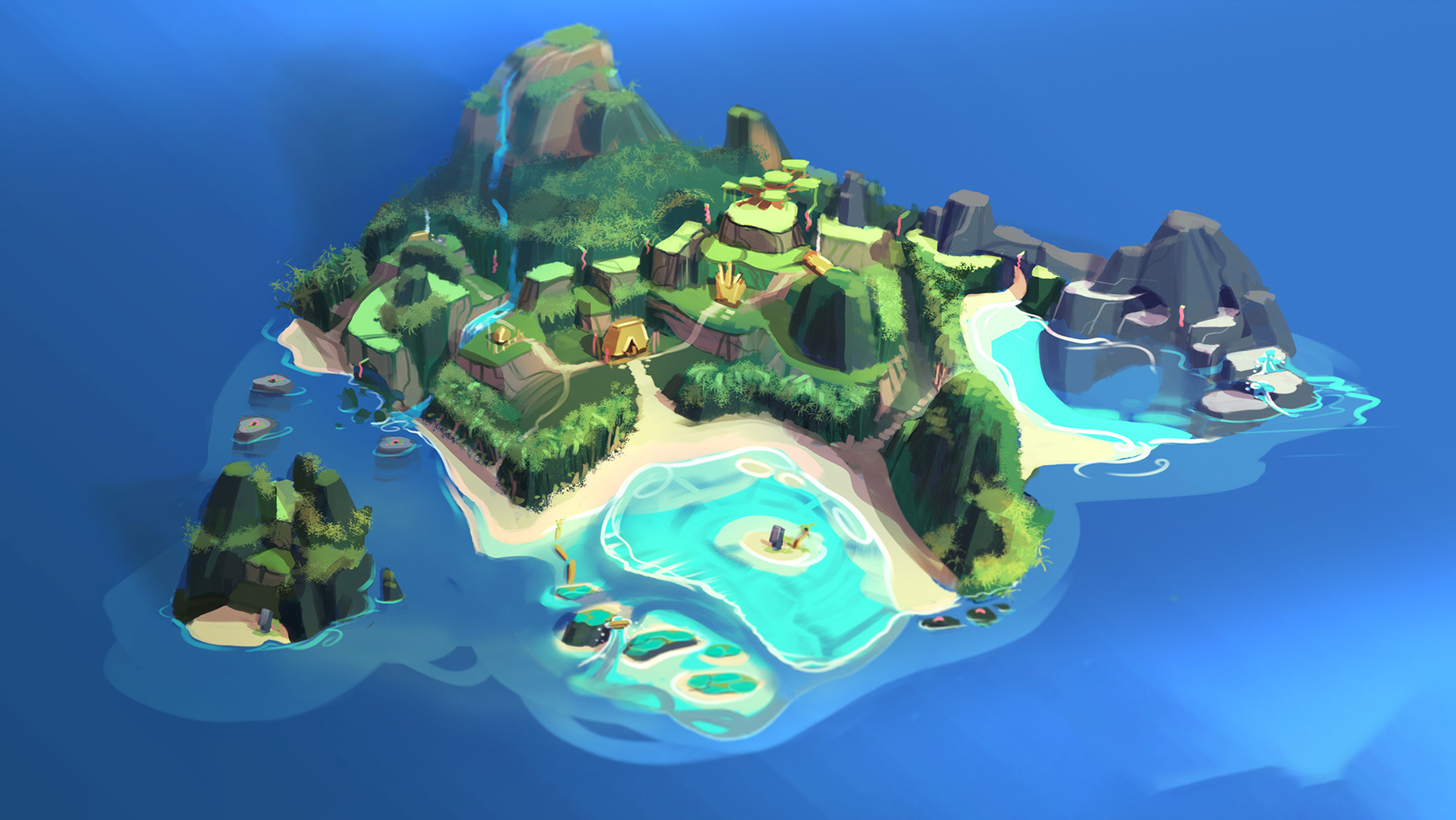 Damian Buzugbe Moana World Design Disney Infinity 3 5