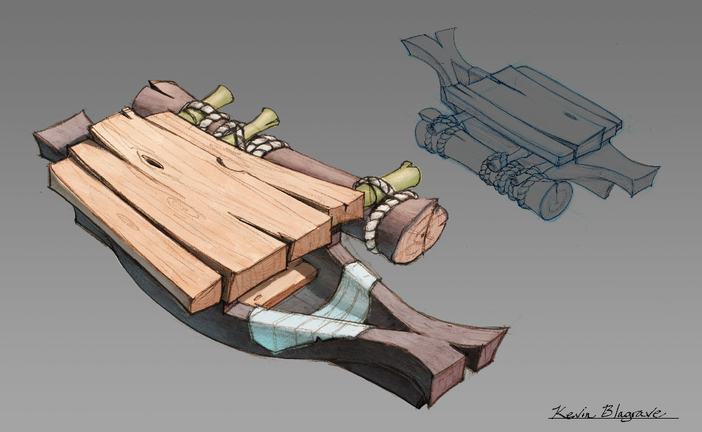 Outrigger canoe design