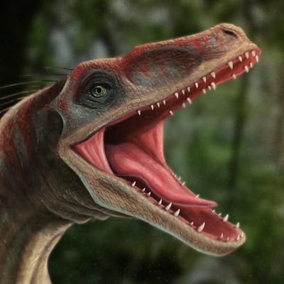Donato morera velociraptor portrait