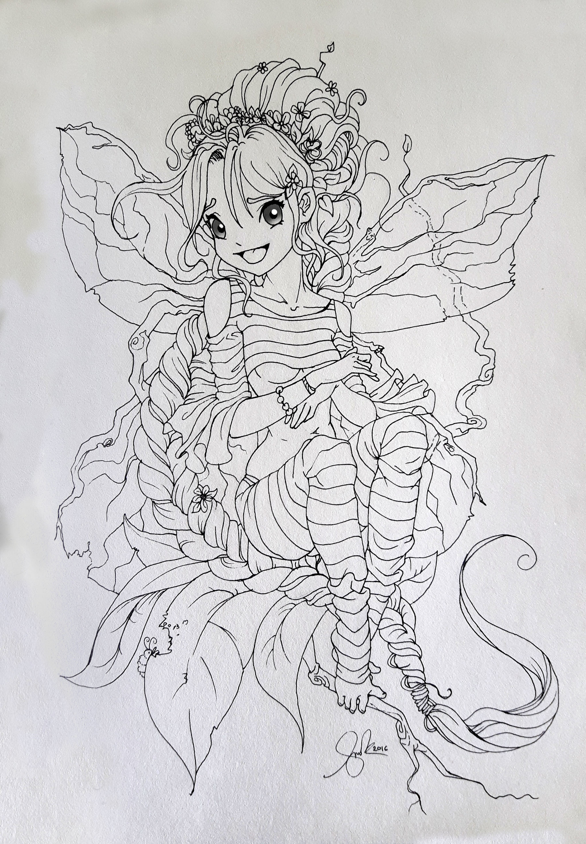 Shellz art shelly nest fairy