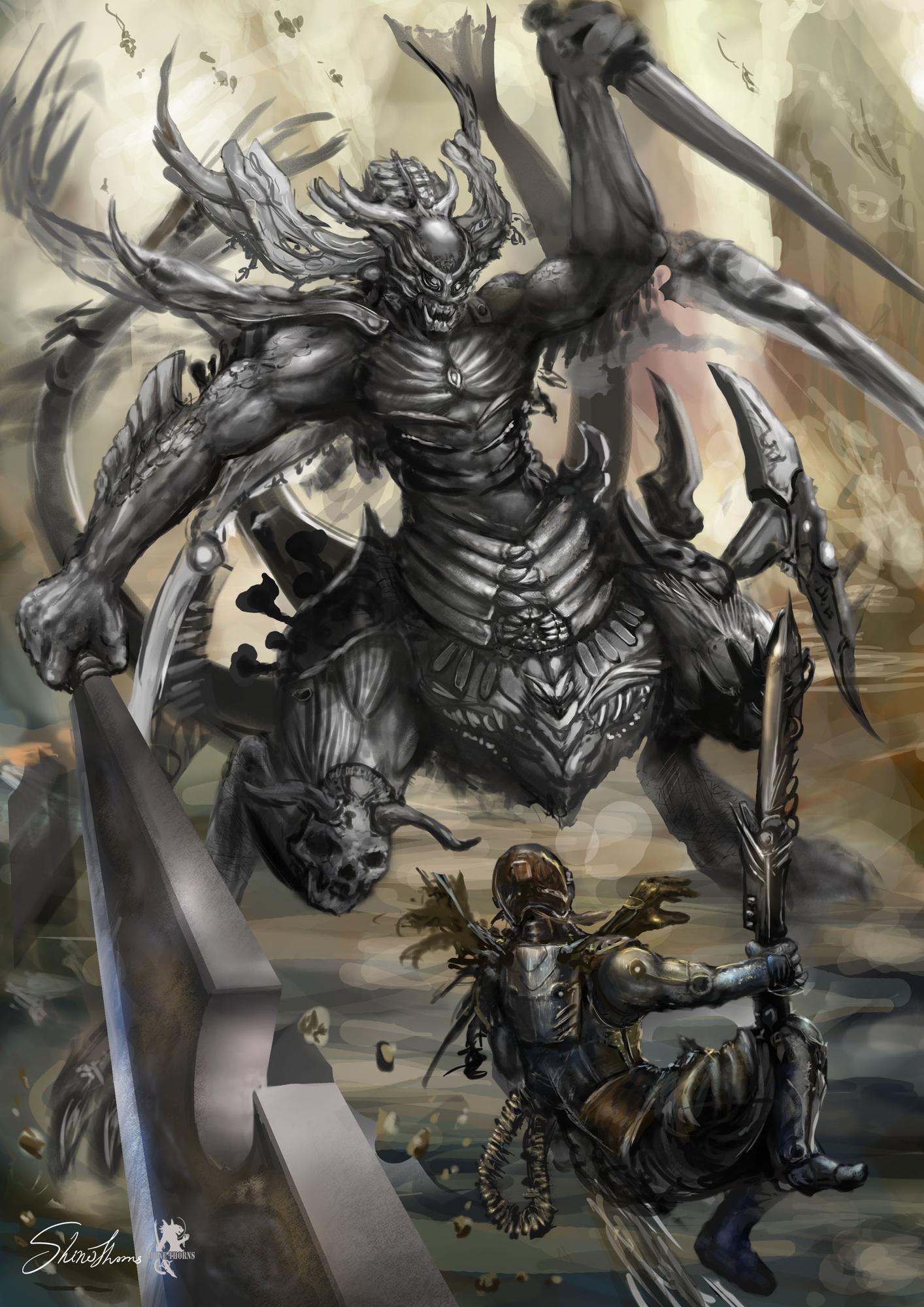 Thorns shine monster3 3 s