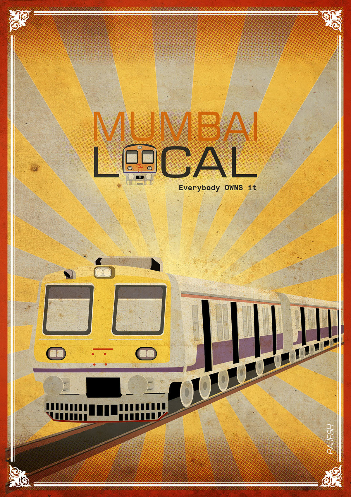Rajesh sawant mumbai local train 01