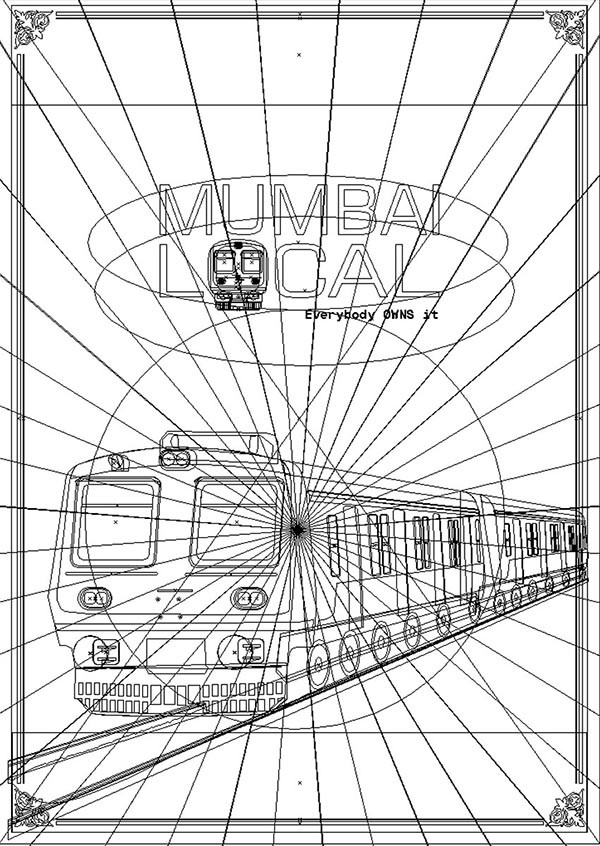 Rajesh sawant mumbai local train wireframe