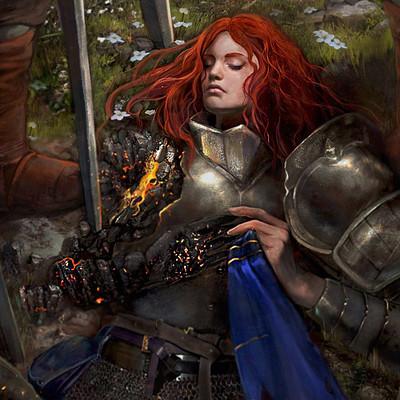 A stas knight girl by a stas dark1c1
