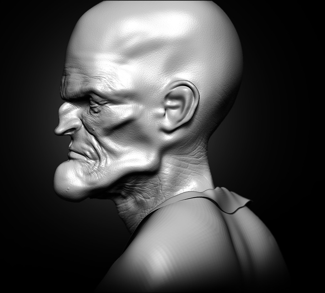 Wil hughes walt side sculpture