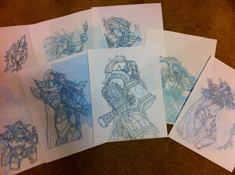 Eddie holly wow sketches