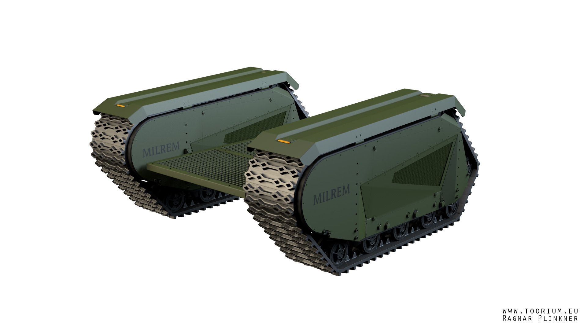 Ragnar plinkner ugv military base