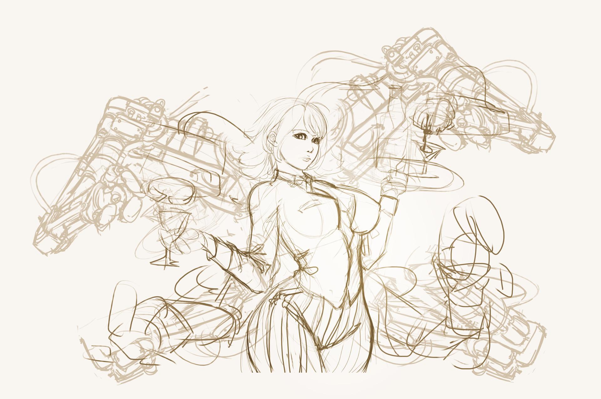 Dzung phung dinh bartania sketch