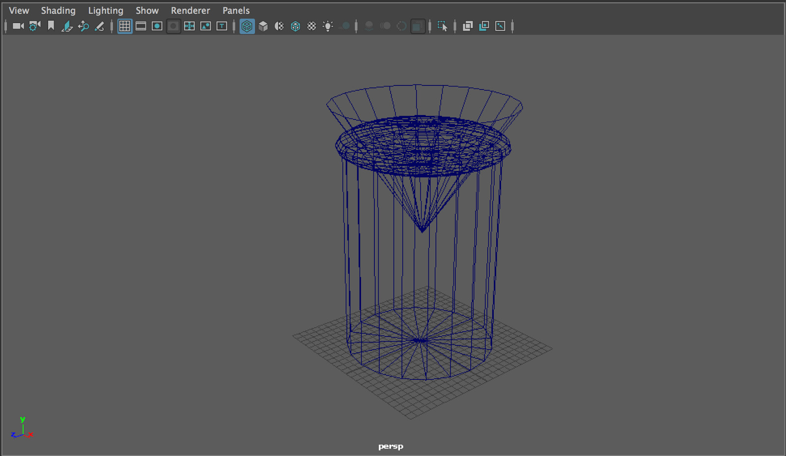 jar blockout wireframe