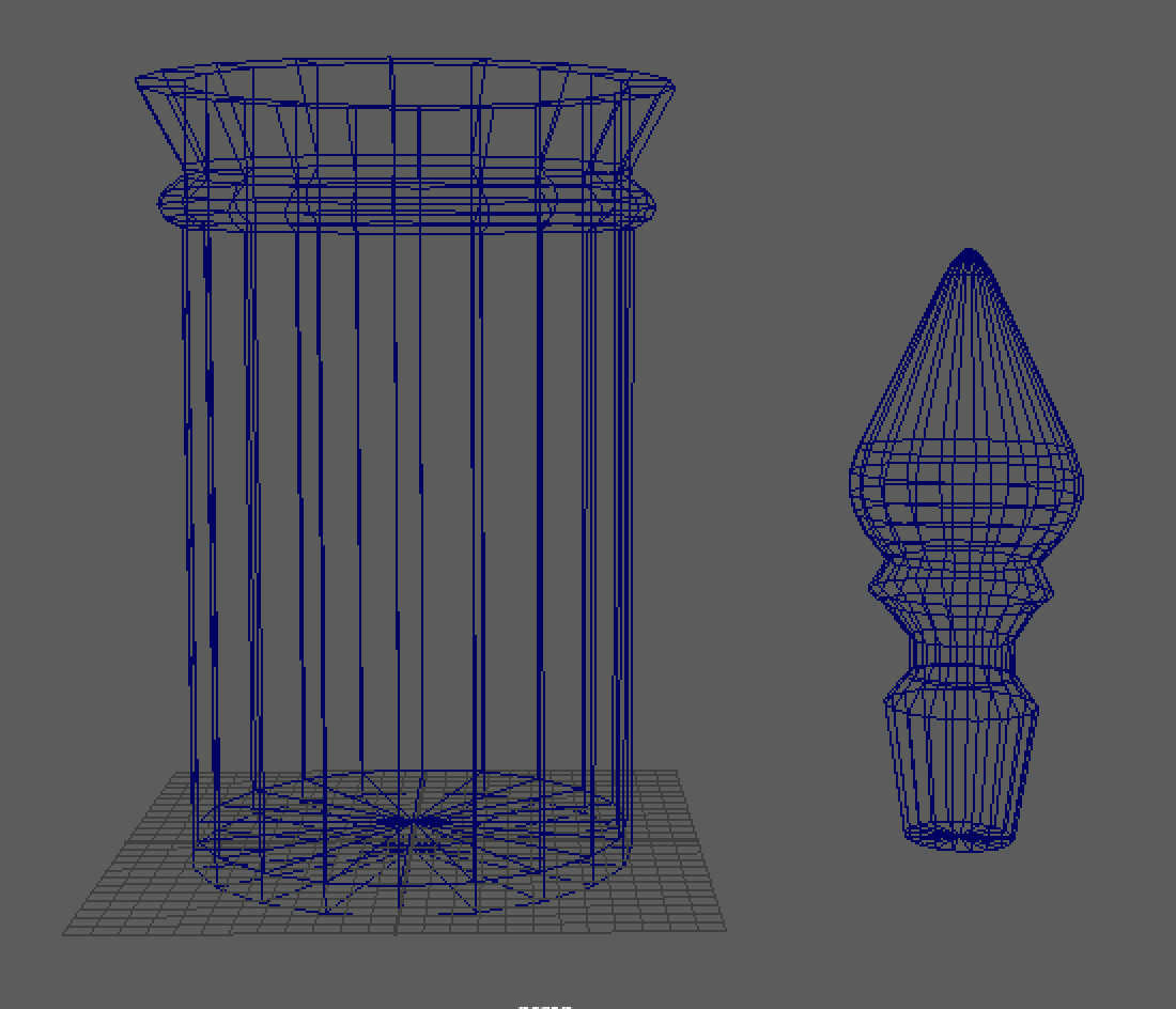 jar and bottle stopper blockout wireframe
