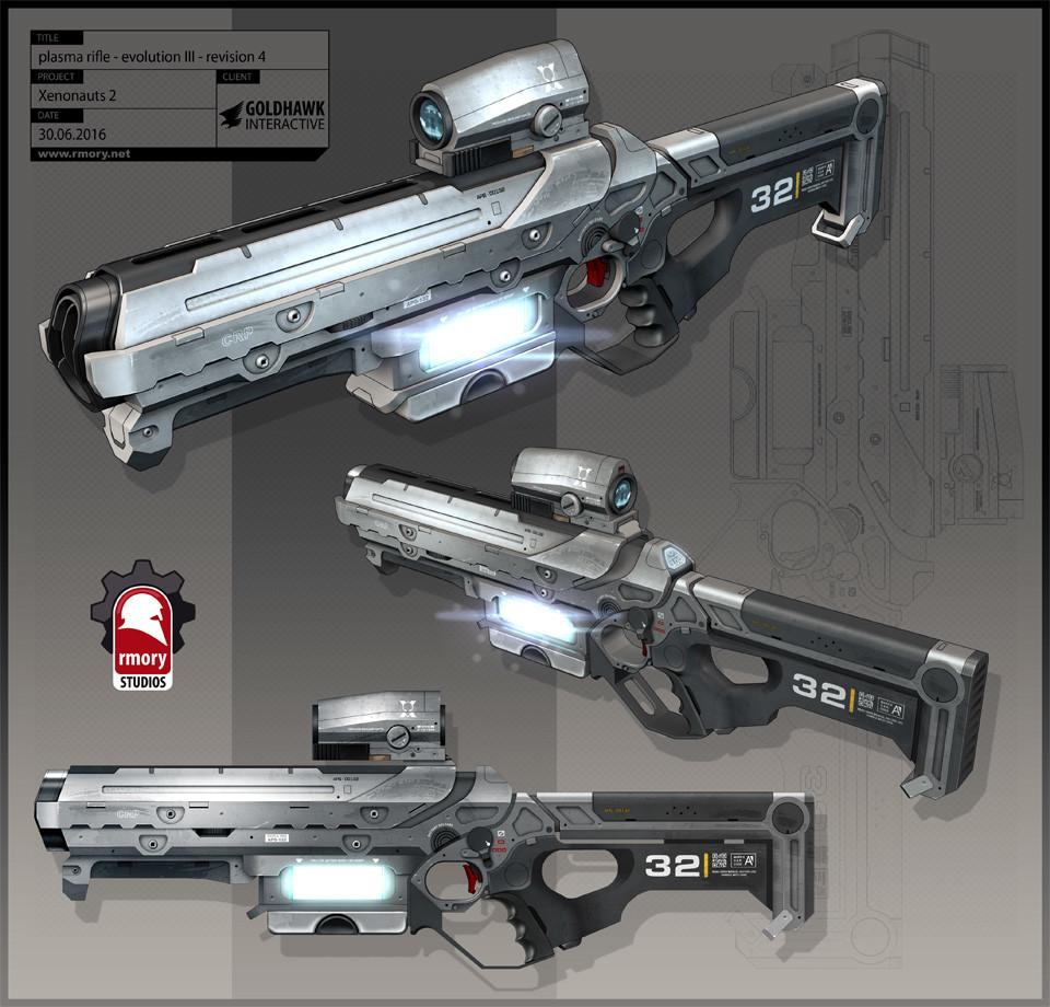 Xenonauts 2 plasma rifle - rmory studios
