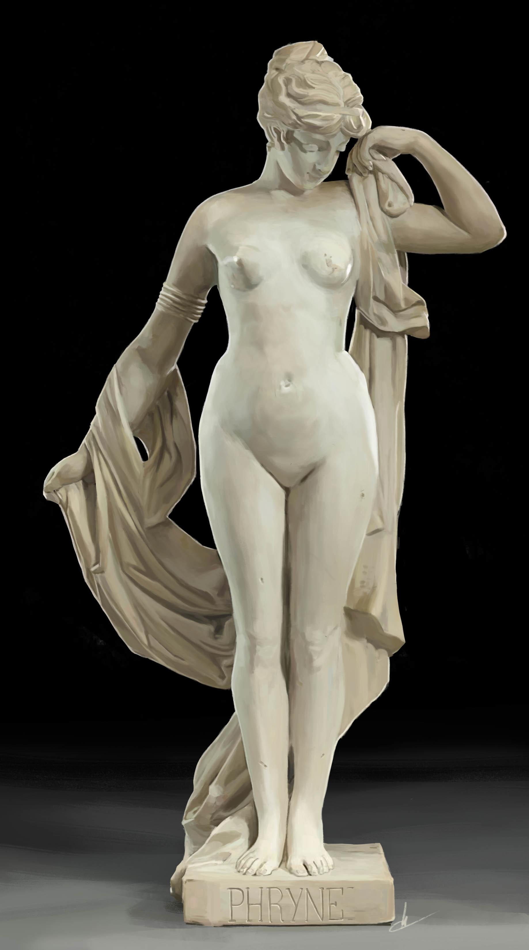 Classic nude sculpture
