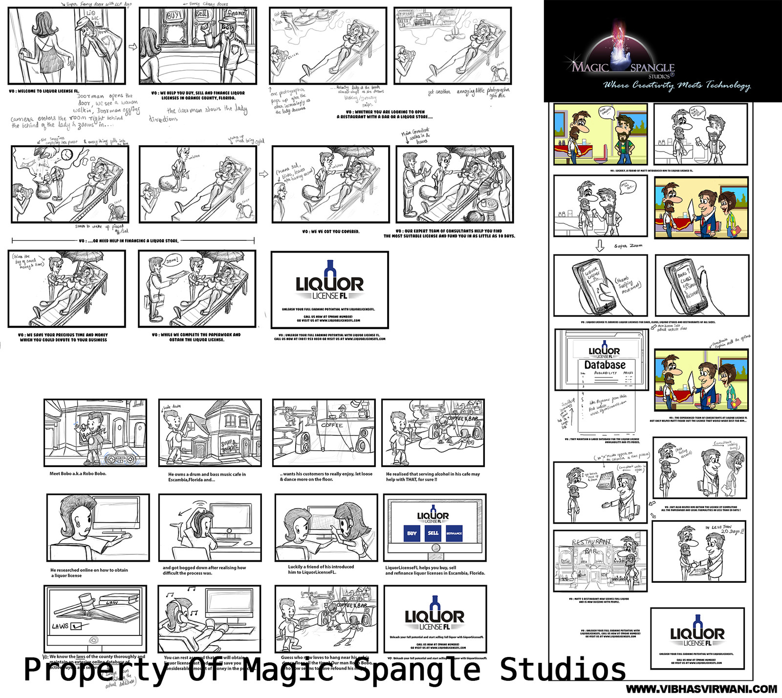 3 Liquor license florida storyboards