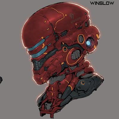 Ching yeh cyborg helmet