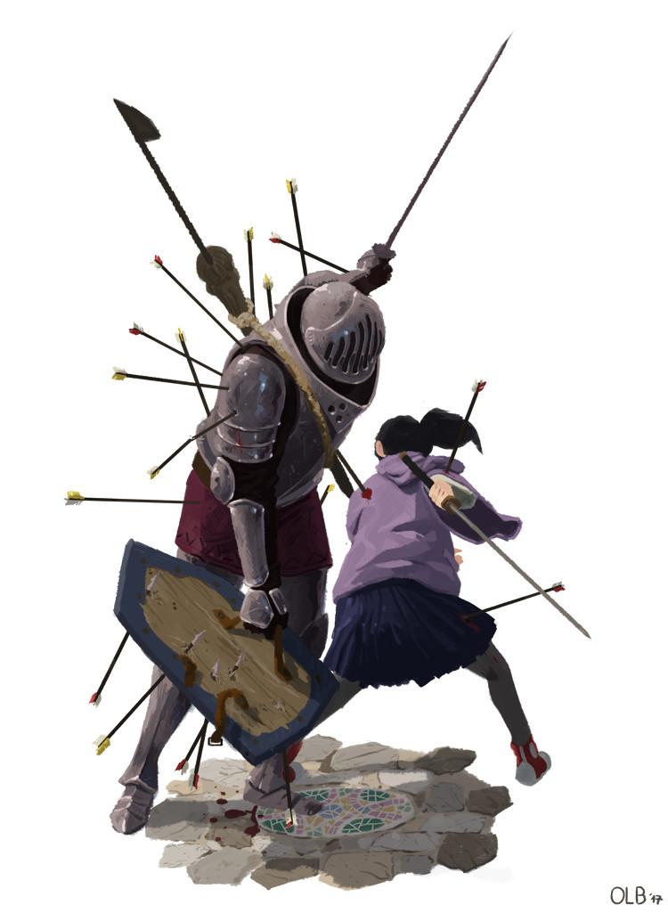 Olivier le borgne knight