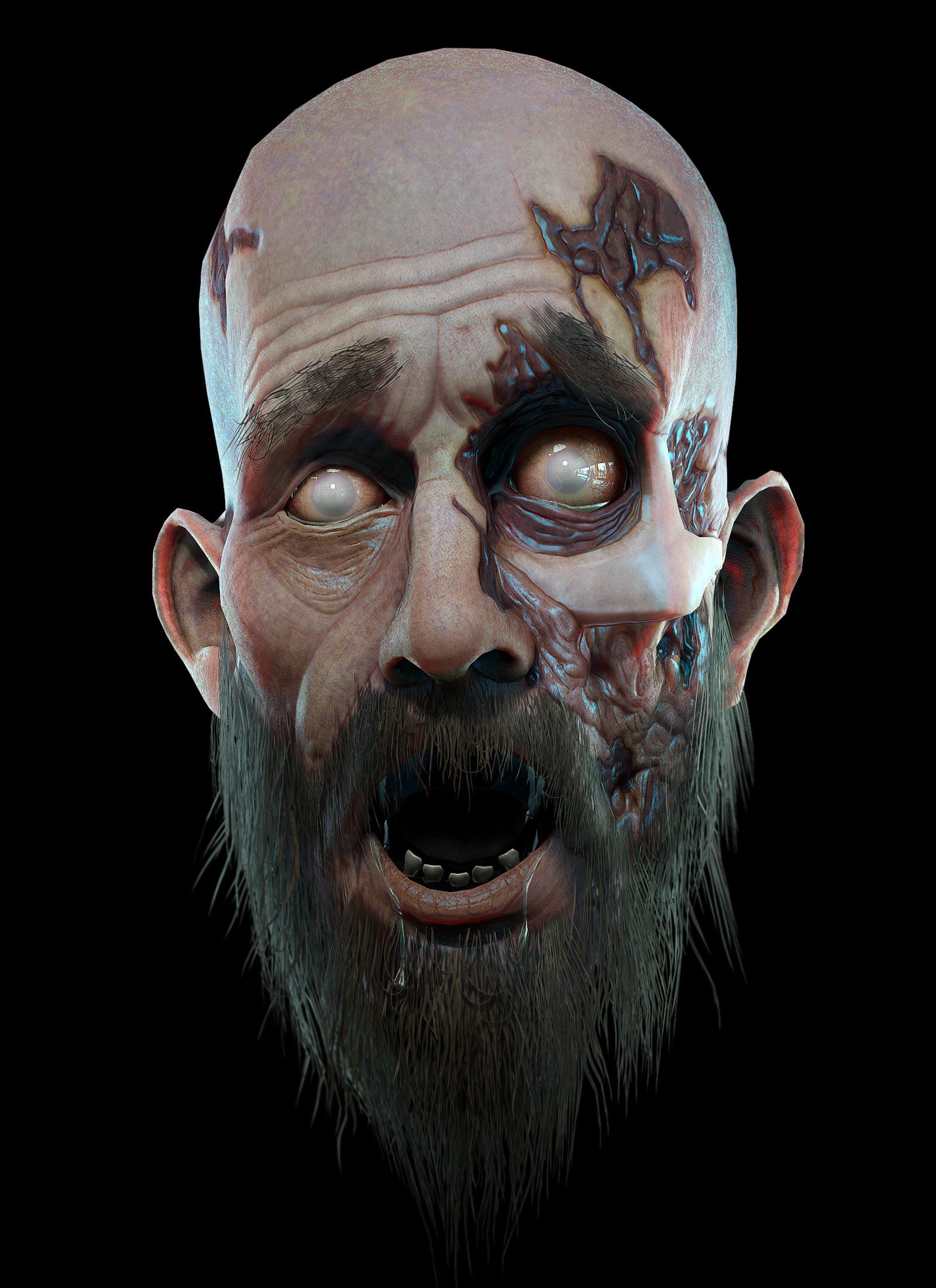 Eric blondin schell bearded zombie01
