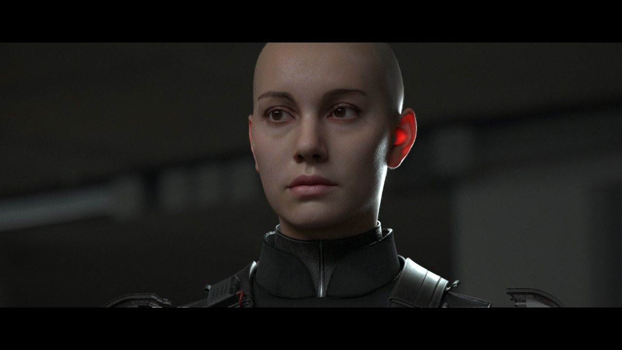Skin Shader V02 made with the vray Alshader, with the same maps as the previews renders