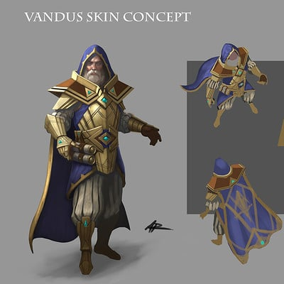 Anthony rivero vandus tier1skin colorconcept