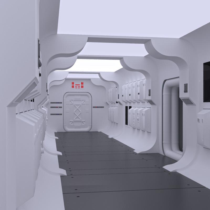 Tantive IV Interior - V-Ray