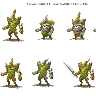 Anthony rivero 5v5earthminionconcepts sheet