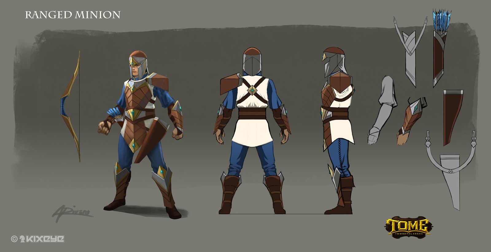 Ranged Minion Model Sheet