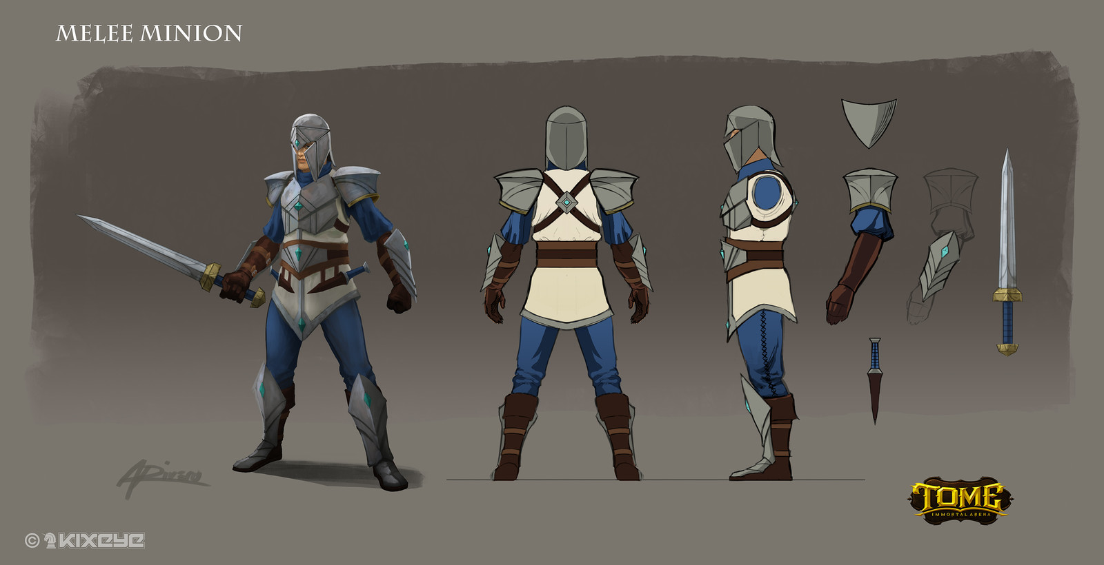 Melee Minion Model Sheet