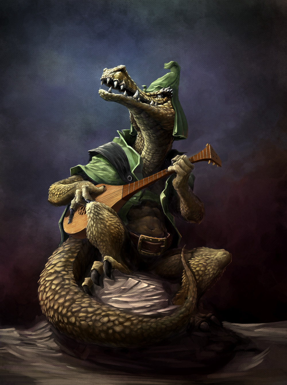 Allan loenskov croc bard