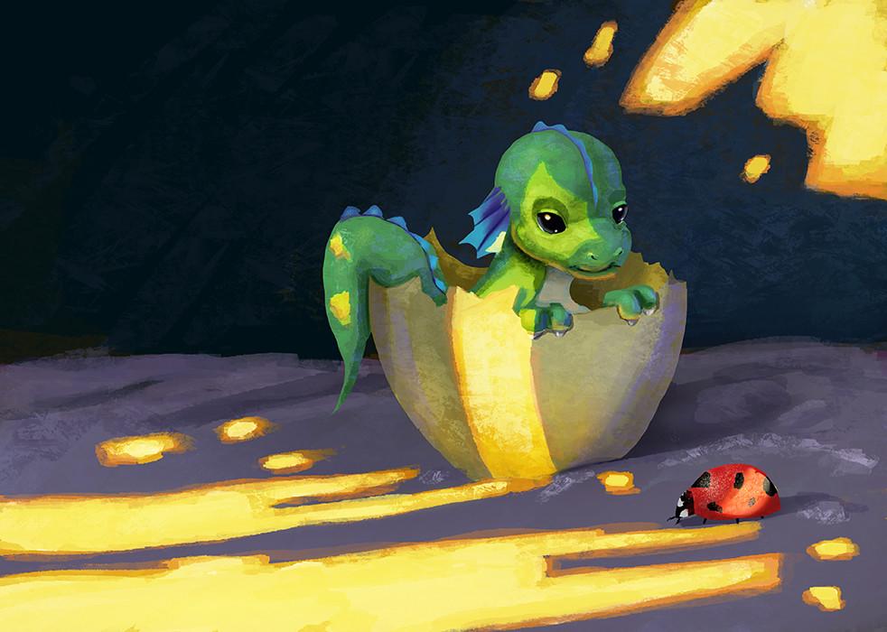 Kai satoshi dragon and lady small
