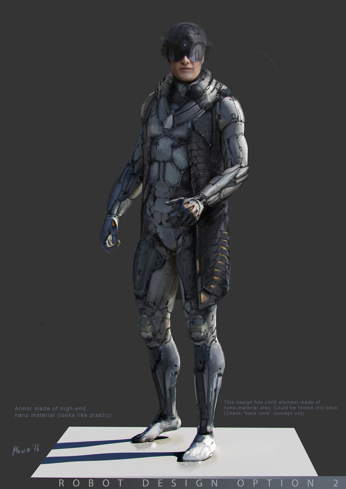 Robot Concept Options