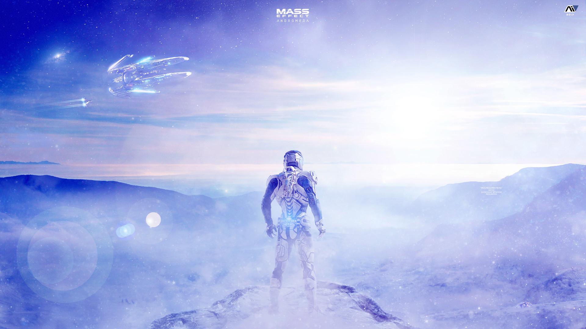 Alexander Krasnov Explorer Mass Effect Andromeda 4k