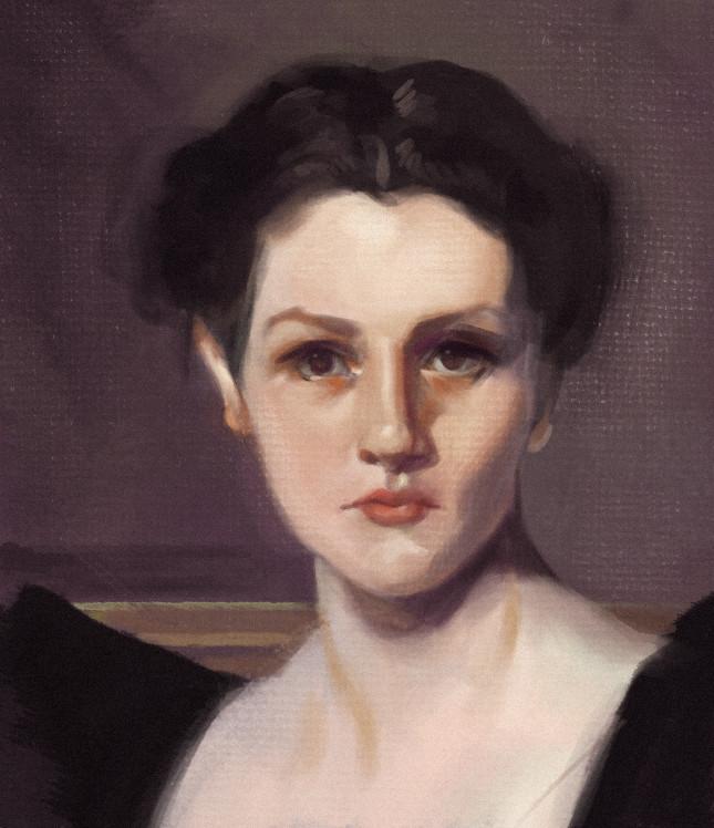 Sargent Study - Elizabeth Winthorp Chanler