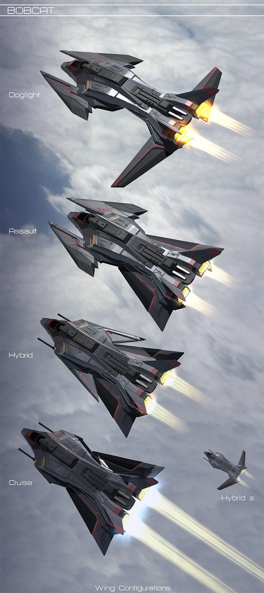 Dave jones wing configurations