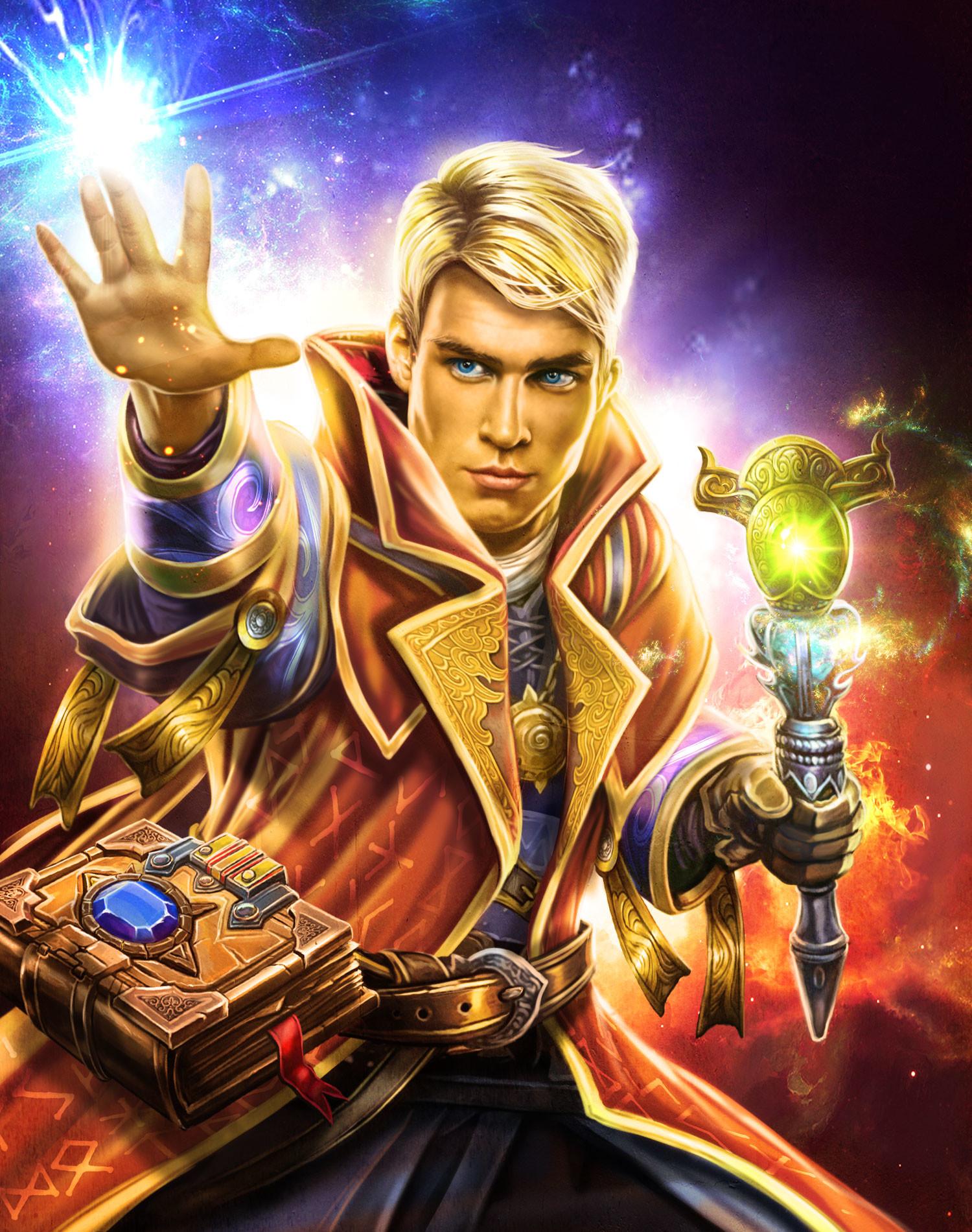 Artstation Wizard Apprentice Atanas Stoykov