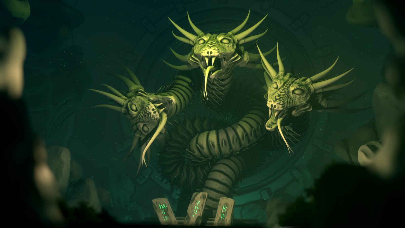 Hydra Sleeps Here