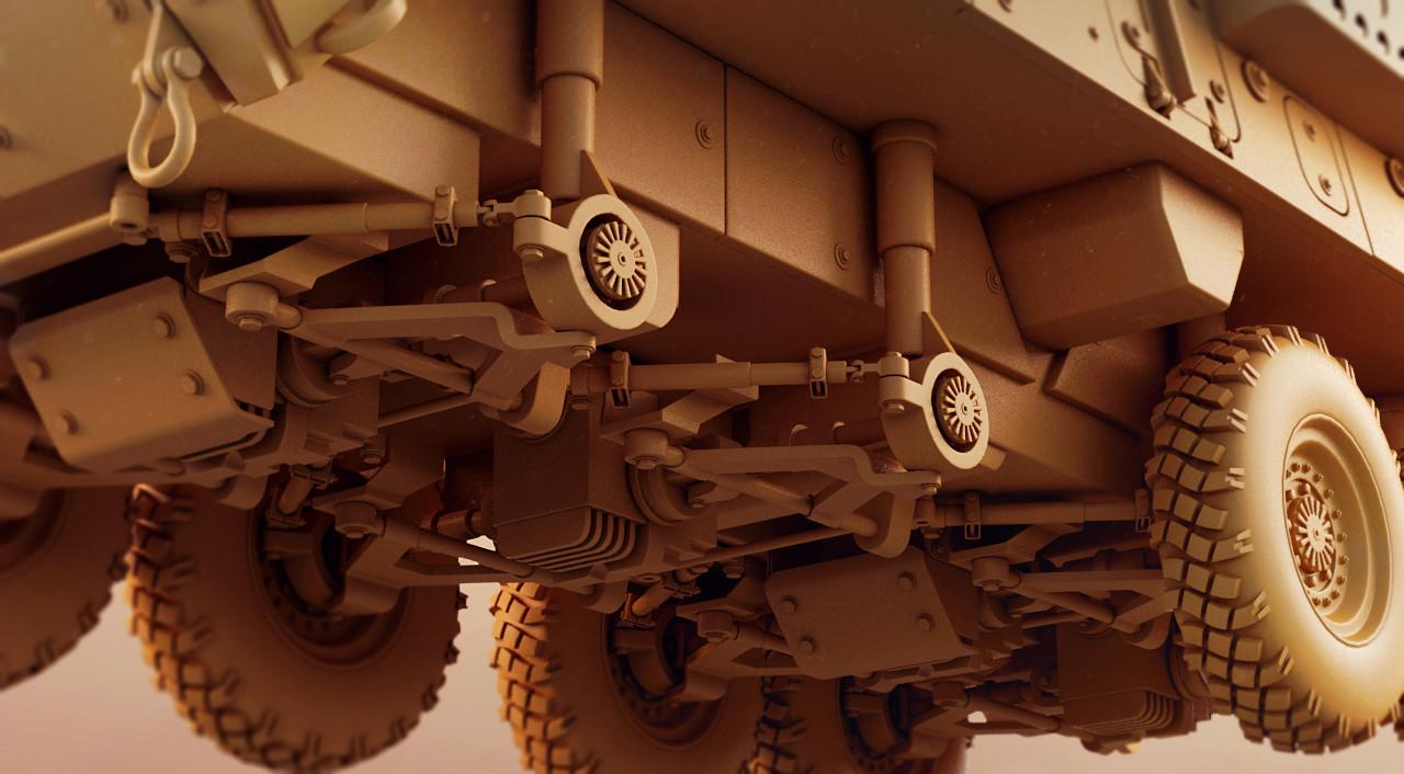 Toby lewin wip 02 stryker engine