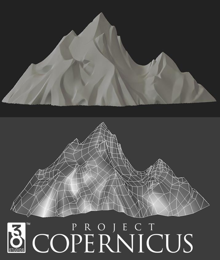 Brent ladue copernicus valiance mountain