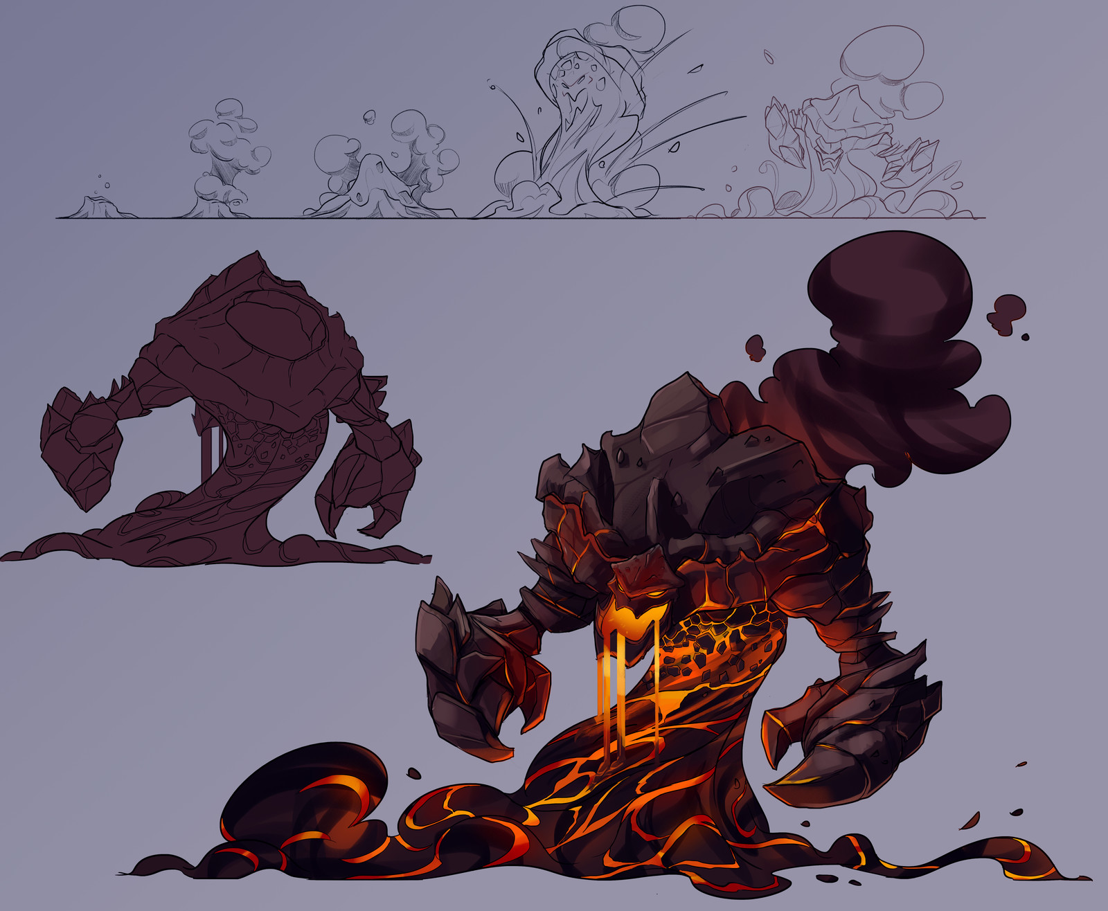 Troll character designs