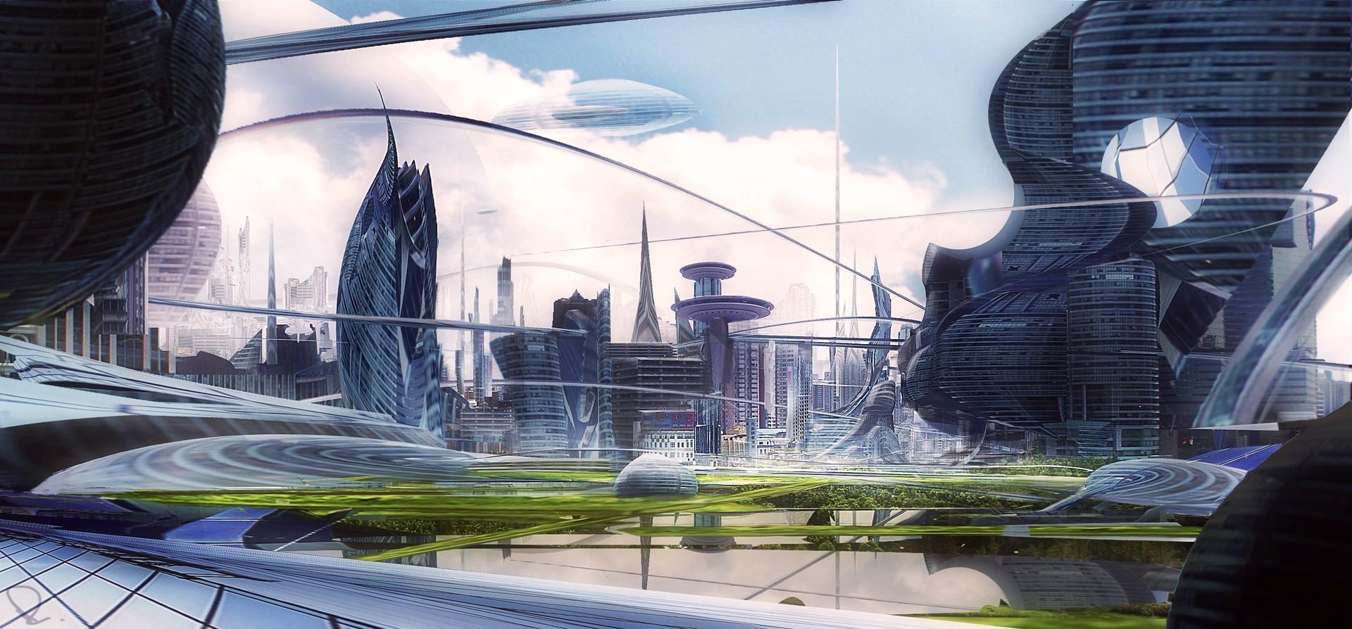 Marcin rubinkowski glass city
